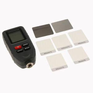 1 Pcs Lcd Digital Coating Thickness Gauge Auto Paint Thickness Tester Gay