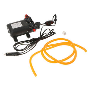 Powerful Dc 12v Quick Car Cleaning High Pressure Washer Double Water Pump