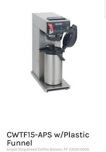 Bunn Automatic Coffee Brewer Cwtf15 aps Pf port Coffee Server Not Included