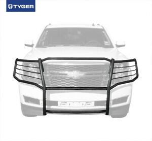 2015 2020 Chevy Tahoe Suburban Black Front Bumper Grille Guard