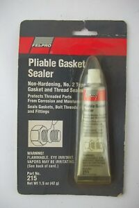 Fel Pro Pliable Gasket Sealant Sealer Non Hardening No 2 Type 1 5oz Part 215