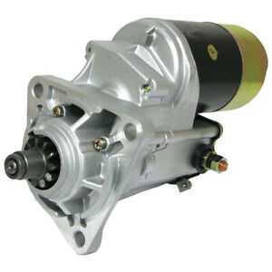 Gear Reduction Starter Fits Ford New Holland Tractor 2000 2100 2110 2120 2300
