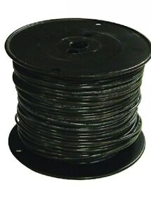 Black Stranded Tffn Fixture Wire 500ft 16 gauge Heat resistant Appliances Wiring
