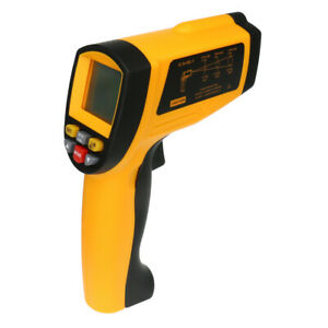 Infrared Thermometer Non contact Ir Point Digital Lcd Temperature Meter 80 1