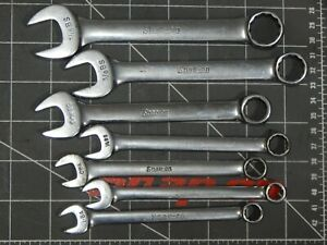 Snap On British Standard Short Wrench 7pc Set 3 16 Bs 7 16 Bs Ba 1ba 0ba 1 4bs