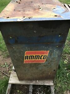 Heavy Duty Ammco Brake Lathe Bench For The 4000 4100 3000 7000 Sturdy Unit