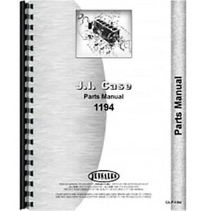 New Case 1194 Tractor Parts Manual