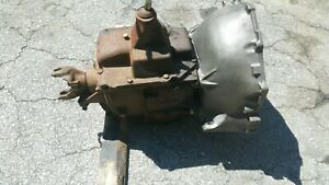 Gm 4 Speed Manual Truck Transmission With Shifter Good Condition