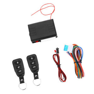 Car Door Lock Keyless Entry System Auto Remote Central Kits And Control Box