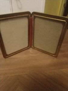 Art Deco Double Picture Frame