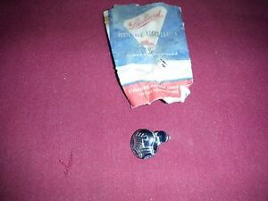 1956 Packard Senior Trunk Lock Emblem 6478536 Nos