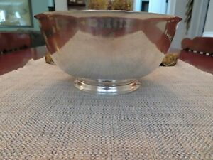 Tiffany Co Makers Revere Style 10 D Sterling Silver Bowl 28 5 Troy Ounces