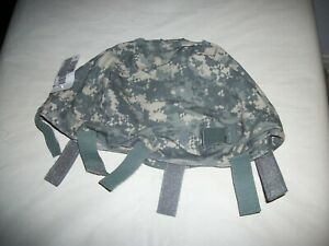 US Army SmallMedium ACU Camo ACH Helmet Cover NEW