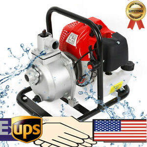 For Irrigation High Pressure Pump 1 Inch 2 Stroke 1 7hp Petrol Water Transfer