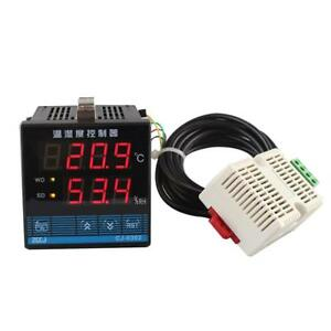 50 60hz Temperature And Humidity Controller Adjustment Instrument With Sensor