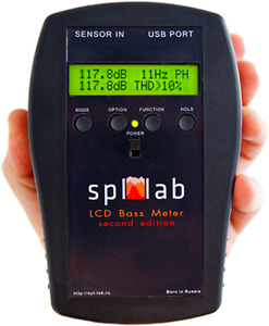 Spl lab Lcd Bass Meter second Edition