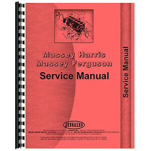 Service Manual For Massey Ferguson 231 Tractor