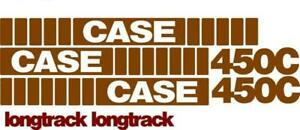 Whole Machine Decal Set With Longtrack Decals For Case Crawler Dozer 450c