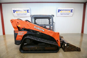 2015 Kubota Svl 90 2 Skid Steer Track Loader Orops 2 Speed High Flow Sn15128