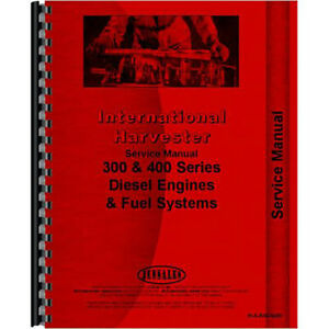 International Harvester 986 Engine Service Manual