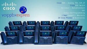 The 20 Executive Cisco Small Business Phone System New Cisco 8800 Phones Pbx