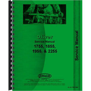 New Oliver 1855 Tractor Service Manual