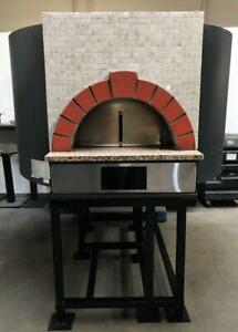 Morello Forni Pg 130 Bakery Restaurant Equipment Stone Hearth Gas Pizza Oven