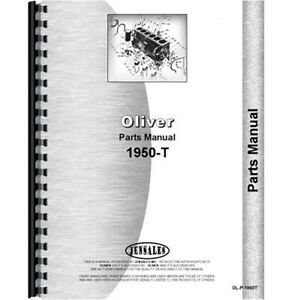 Oliver 1950 t Tractor Parts Manual