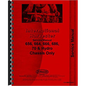 New Farmall 666 Tractor Chassis Only Service Manual