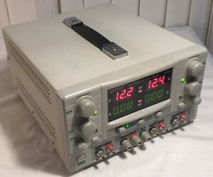 Extech Model 382270 Quad Output Dc Power Supply Pre owned