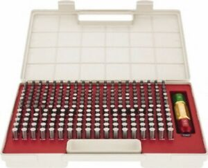 Pin Gage Set 250pc s 251 500 Minus Tolerance Class Zz Bright Spi 22 148 1