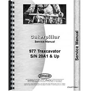 For Caterpillar 977 Traxcavator 20a1 Service Manual new