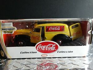 Matchbox Coca-Cola 1940 Ford Sedan Delivery Coke Van 1:18 Scale Diecast Truck