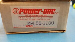 2 Pc Spl50 3200 Power one Multi Voltage Switching Power Supply 50w 5v To 12v
