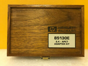 Hp Agilent 85130e 2 4mm To 7mm Dc To 18 Ghz Test Port Adapter Kit Tested