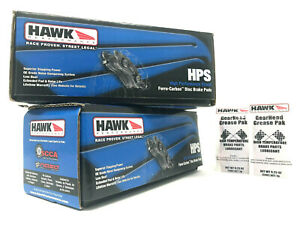 Hawk Hps Performance Front Rear Brake Pads 2002 2006 Acura Rsx Type S Dc5 K20