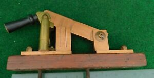 Large Antique 12 Brass Copper Electric Knife Switch