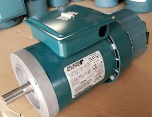 New Reliance 1 Hp 3 Phase Brake Motor P14h7206g 230 460 Volt 1725 Rpm