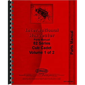 New Tractor Parts Manual For International Harvester Cub Cadet 984 Tractor