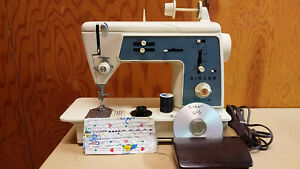Singer Touch Sew 645 Sewing Machine Heavy Duty Leather Upholstery Serviced