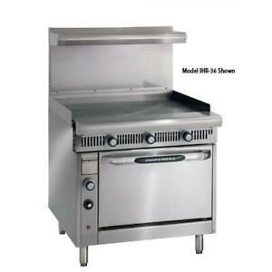 Imperial Ihr g36 c Diamond Series 36 griddle Manual W Convection Oven