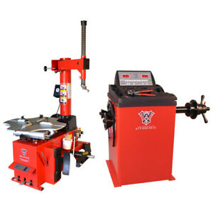 Weaver Tire Changer Wheel Balancer Combo 1