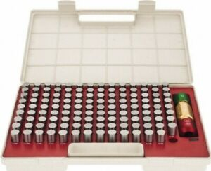Pin Gage Set 125pc s 626 750 Minus Tolerance Class Zz Bright Spi 22 150 7