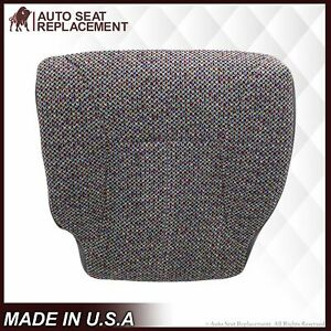1998 2001 Dodge Ram 1500 Slt Laramie Driver Seat Cover Agate Dark Gray Cloth