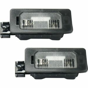 License Plate Lights Lamps Set Of 2 New Rear Right and