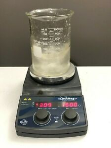 Ika Chemglass Optimag Mst Hot Plate Magnetic Stirrer Stirring Digital Mix Heat