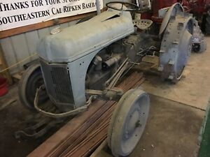 9n Ford 1940 41 Tractor On Steel Wheels Shermin Transmission 8n 2n antique