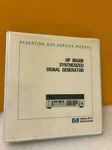 Hp Agilent 08656 90204 Hp 8656b Synthesized Signal Generator Ops svc Manual