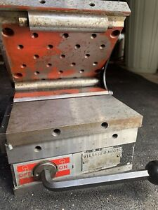 Suburban 6x6 Magnetic Chuck Sine Plate Surface Grinder W Hold Down And Case