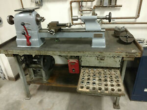 Hardinge Elgin Precision Metal Lathe With Collets Chuck Located In Nys